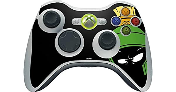 Looney Tunes Xbox 360 Wireless Controller Skin - Marvin the ...