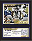 "Baltimore Ravens Super Bowl XXXV 12"" x 15"" Sublimated Plaque - Fanatics Authentic Certified - NFL Team Plaques and Collages"