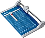 Dahle 550 Professional Rolling Trimmer, 14-1/8 Cut Length, 20 Sheet Capacity, Self-Sharpening, Automatic Clamp, German Engineered Paper Cutter