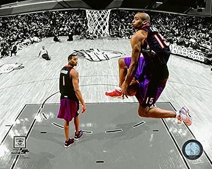 Image Unavailable. Image not available for. Color  Vince Carter Toronto  Raptors NBA Slam Dunk Contest ... 62a0897c7