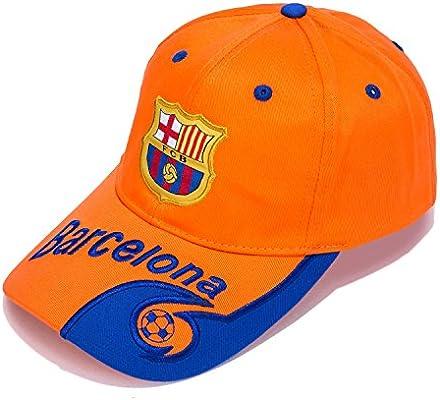 Barcelona F.C. – bordado auténtico EPL ajustable naranja gorra de ...