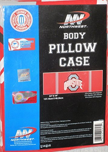 Ohio State Buckeyes Body Pillow Pillowcase