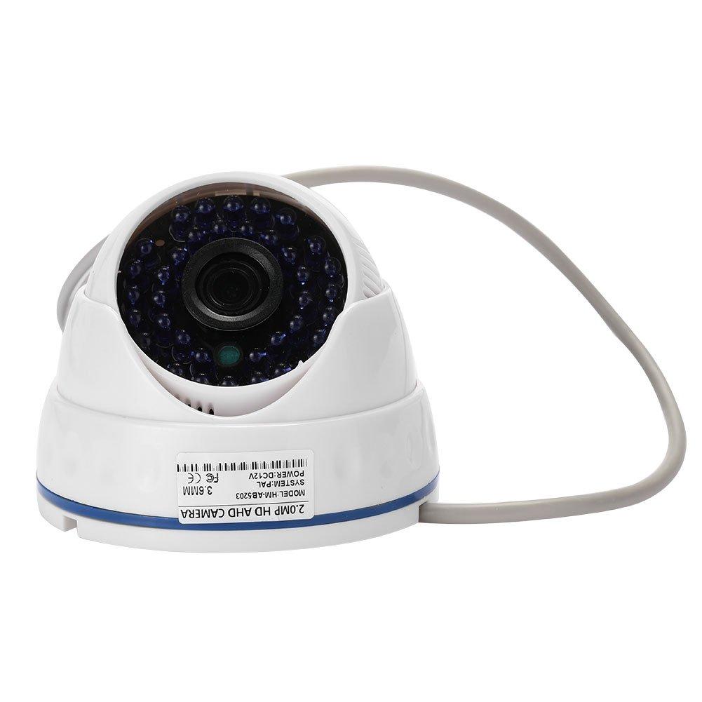 Hanbaili Cá mara domo de seguridad 1080P 2.0 megapí xeles de visió n nocturna para monitoreo en el hogar Giantree