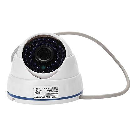 Rosepoem Cámara De Ahd De La Cámara De Seguridad De 2Mp 1080P, Cámara De Vigilancia
