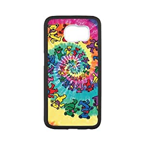 Unique Printing Skin Shell Pattern Phone Case for SamSung Galaxy s6,Grateful Dead,TPU Material Diy Galaxy s6 Cover Case s6-linda469 By LO.O Case