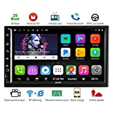 ATOTO A6 2DIN Android Car Navigation Stereo with Dual Bluetooth & 2A Charge -Premium A62711PB 1G/32G Car Entertainment Multimedia Radio,WiFi/BT Tethering internet,support 256G SD &more