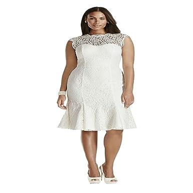 Short Cap Sleeve Wedding Dresses Cheap