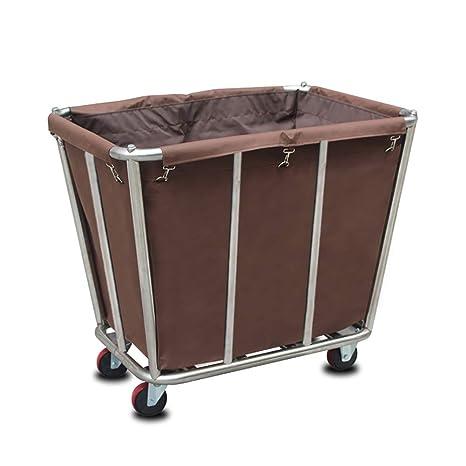 Carros de Mantenimiento Coche de Lino móvil para Hotel/Lobby, Carro de recolección Desmontable