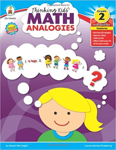 Thinking Kids' Math Analogies, Grade 2 Download