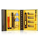 AENMIL Portable 38-piece Precision Screwdriver Set Repair Tool Kit Necessary Tools to Repair Watches, Mobile Phones, Televisions, PDA, PC and Other Applications, Easy to Carry and Store at Home and Work