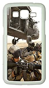 Samsung G7106 CaseSoldiers Deploying From Helicopter PC Custom Samsung G7106 Case Cover White
