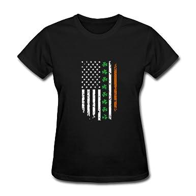 fashionao irish american usa flag shamrock for st patrick s day