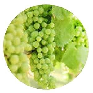 alfombrilla de ratón uvas blancas - ronda - 20cm