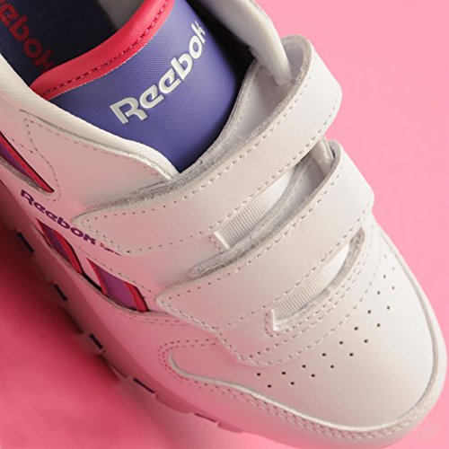 Reebok , Jungen Sneaker mehrfarbig White/Purple/Pink One size