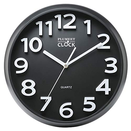 Plumeet Large Number Wall Clock, 13