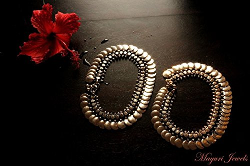 Pure Silver Coin Anklet. by Mayuri Jewels
