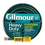 """Gilmour 864751-1001 75ft Heavy Duty Flexogen Garden Hose, 5/8"""" Diameter"""