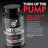- 51B9HrS 2B7dL - Nitric Oxide Enhancement by Modern Man – Pump Enhancing Alpha Male Booster for Men – Yohimbine HCL, Horny Goat Weed & Maca Root | Increase Size, Strength & Stamina | Muscle Gain Supplement – 30 Pills