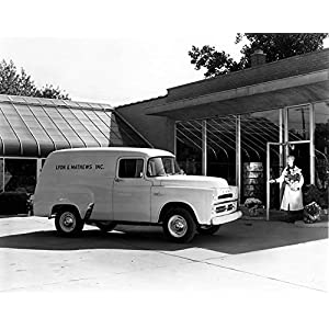 1957 Dodge Town Panel Truck Factory Photo