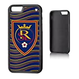 Keyscaper MLS Real Salt Lake Wave Bump Case for iPhone 6/6S, Black