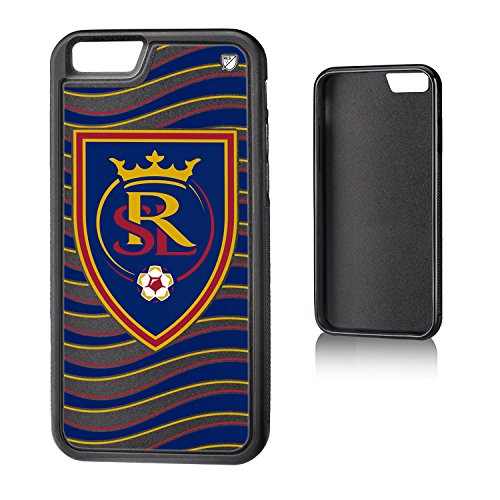 Keyscaper MLS Real Salt Lake Wave Bump Case for iPhone 6/6S, Black by Keyscaper