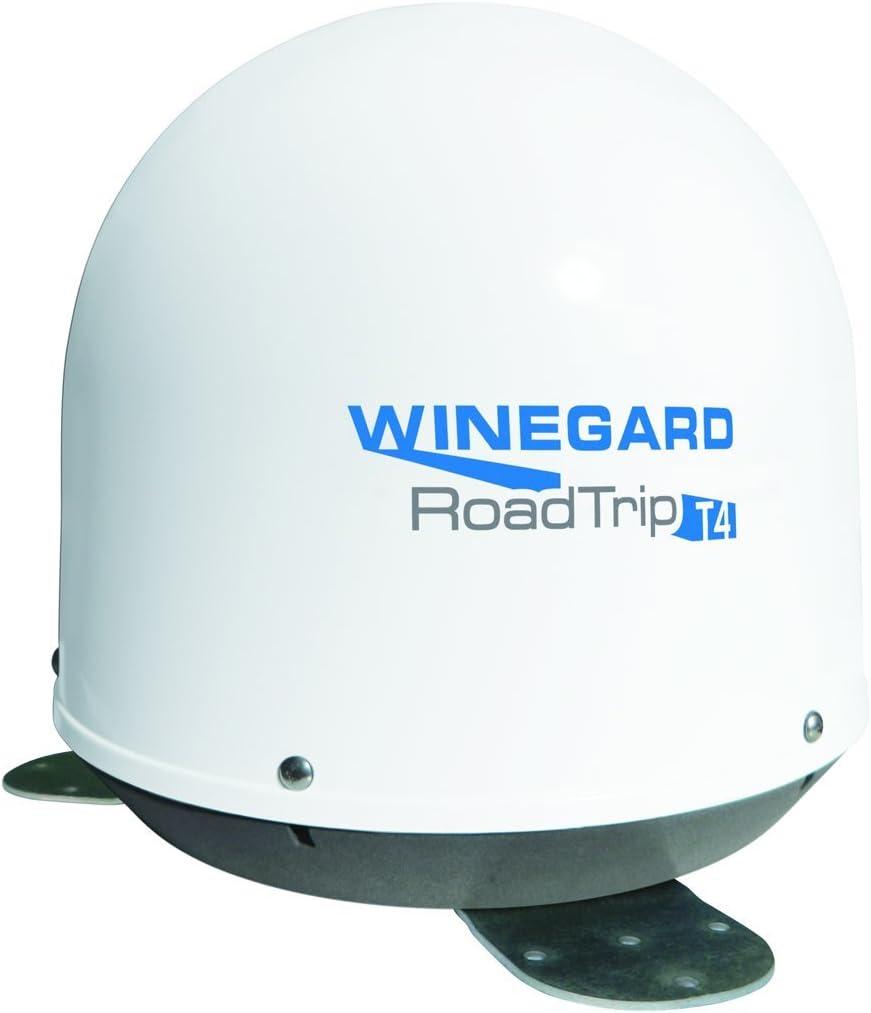 Winegard RT2000T Antena de satélite RV en Movimiento Blanco T4