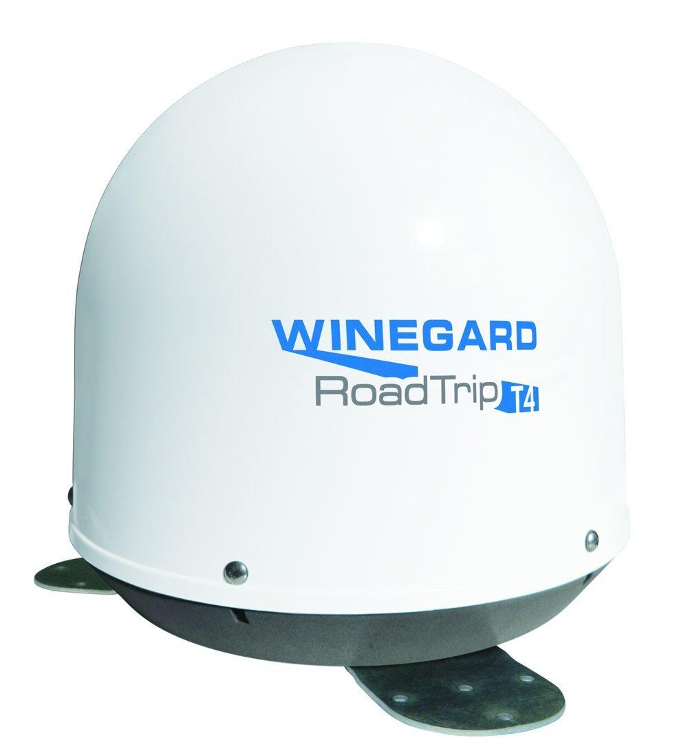 Winegard RT2000T RoadTrip T4 In-Motion RV Satellite Dish (DISH, DIRECTV, BellTV) - Fully Automatic RV Satellite Antenna, White