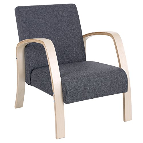 51B9IwcgANL   SONGMICS Upholstered Accent Chair/Relax Arm Chair/Guest Chair  With Removable Fabric ...