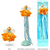 Mönelie Fairy Doll Set - Milla (Includes a Doll, Ribbon Wand & Stand)