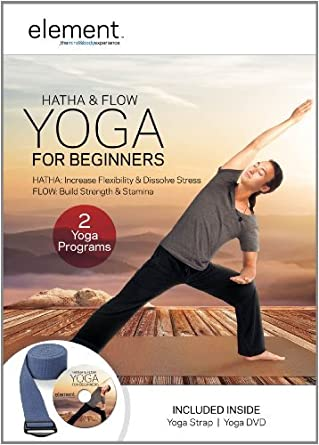 Element: Hatha & Flow Yoga For Beginners w/ Yoga Strap Kit ...