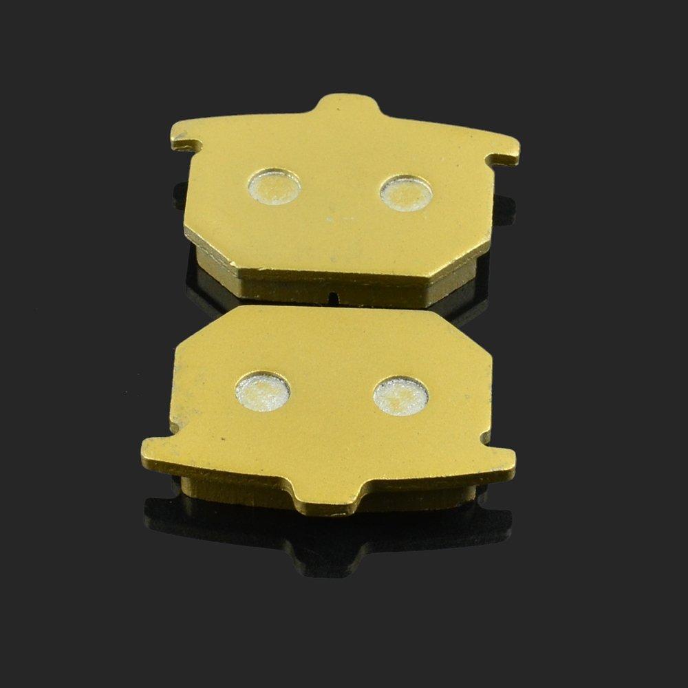 79 81/GL 1000/K3//KZ Goldwing 78 Fast Pro 67/x 49.2/X 11/mm 1/Paire de Plaquettes de Frein Avant pour Honda CX 500/CA//CB//Z//A//B 79