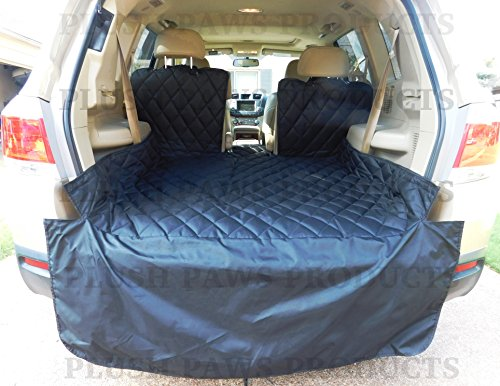 plush-paws-waterproof-cargo-liner-bumper-flap-machine-washable-durable-regular-size-black