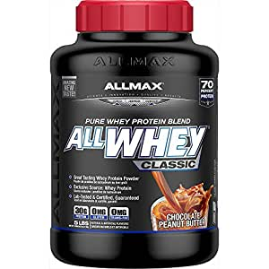 AllMax All Whey Classic Pure Whey Protein Blend - Choc Pbutter - 2.27kg