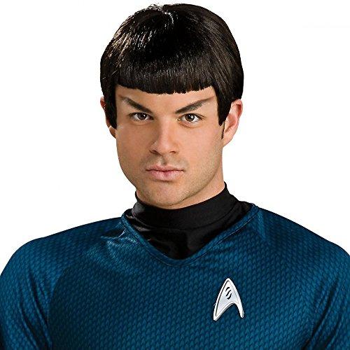 Star Trek Mr Spock Men's Adult Vulcan Costume (Star Trek Spock Wig)