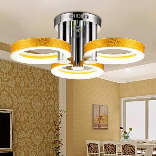 LED Acrylic Chandelier with 3 lights  - 90-240VHome Ceiling