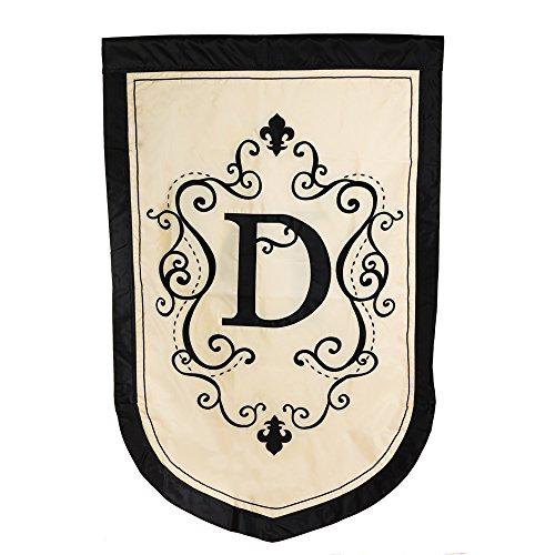(Regal Monogram Estate Flag - D)