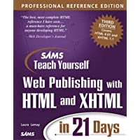 Sams Teach Yourself Web Publishing with HTML and XHTML in 21 Days, Professional Reference Edition (Sams Teach Yourself in 21 Days)