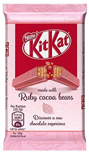 Kit Kat 4 Finger Ruby Chocolate Bar -