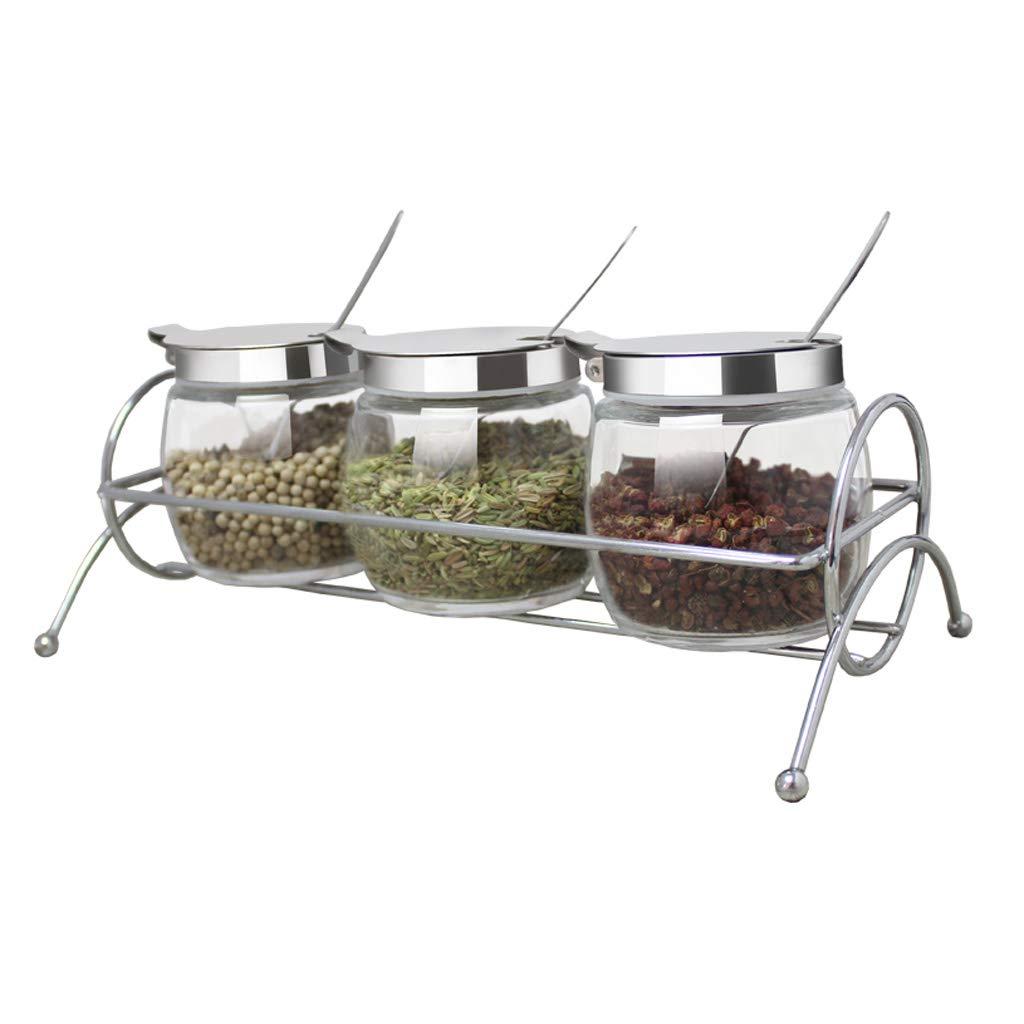 ZFDM Spice Jar, Picking Box, Chicken Salt, Monosodium Glutamate, Chili Oil Tank, Kitchen Tableware