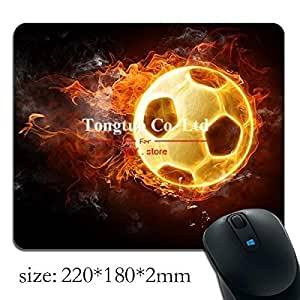 1pc soccer wallpaper hd background pattern creative gaming mouse pad / optical mouse pad / notebook mouse pad
