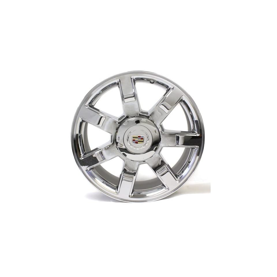 22 Cadillac Escalade Esv Ext 07 08 09 10 11 12 13 Chrome Wheel Oem # 5309 Center Cap Is Not Included