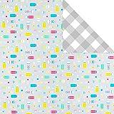 Hallmark gift-wrap-paper, Baby Love