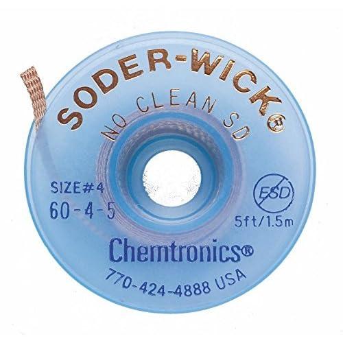 Chemtronics 60-4-5 Soder-Wick No Clean SD Desoldering Braid