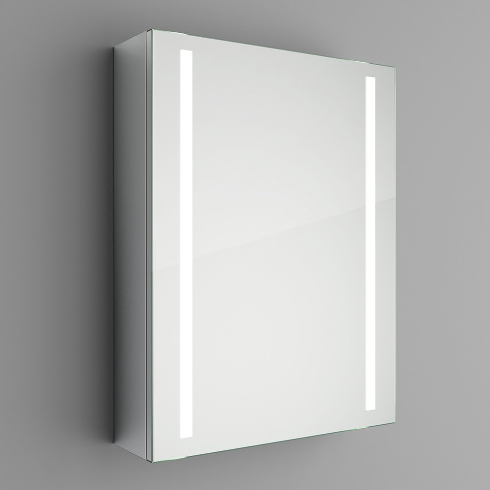 500 X 650 Mm Illuminated LED Bathroom Mirror Cabinet With Motion Sensor MC136 IBathUK Amazoncouk Kitchen Home