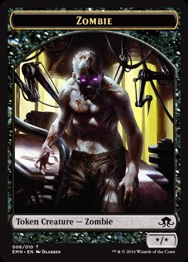 - Magic: the Gathering - Zombie Token (006) - Eldritch Moon
