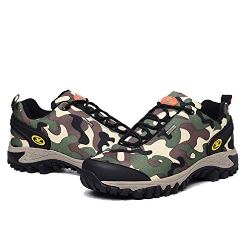 Camo Randonnée Chaussures Imperméable up Camo Outdoor verte Camping Armée Respirant Guan Xiang Trail Walking de Lace Trekking Femme pSqwZwxO8