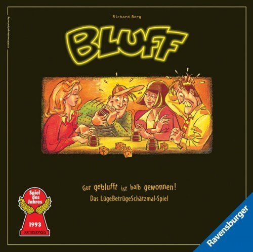 Bluff NEU [German Version] by Ravensburger Spieleverlag