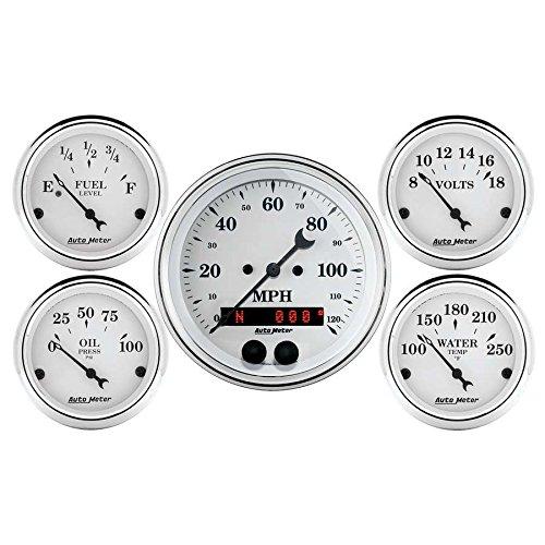 Auto Meter (1650) 5-Piece Gauge Kit by Auto Meter