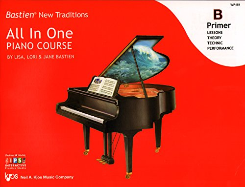 WP451 - Bastien New Traditions - All In One Piano Course - Primer ()