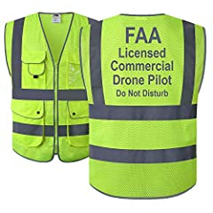 Type:  100% Polyester High Reflective Safety Vest with 360° Visibility; HQ Breathable Mesh;  Light Weight, Durable, Machine Washable. Features:  Sleeveless PPE with high visibility 2 inches wide Reflective Strips along the shoulders, chest, w...